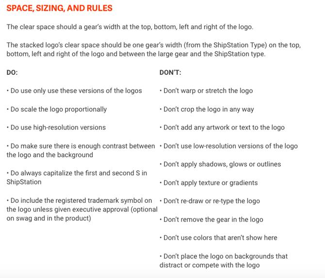 Logo Use Rules
