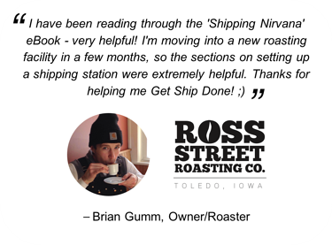 Ross Street Roasting Co  - ShipStation Testimonial