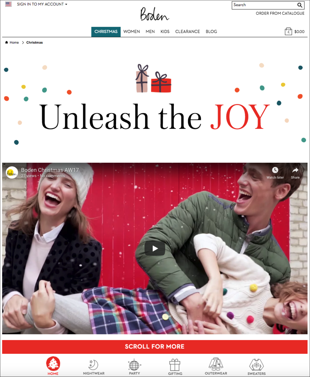 Boden Holiday Gift Guide