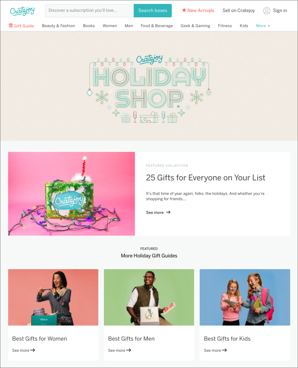 61db5e1e796 5 Downright Impressive Holiday Gift Guides