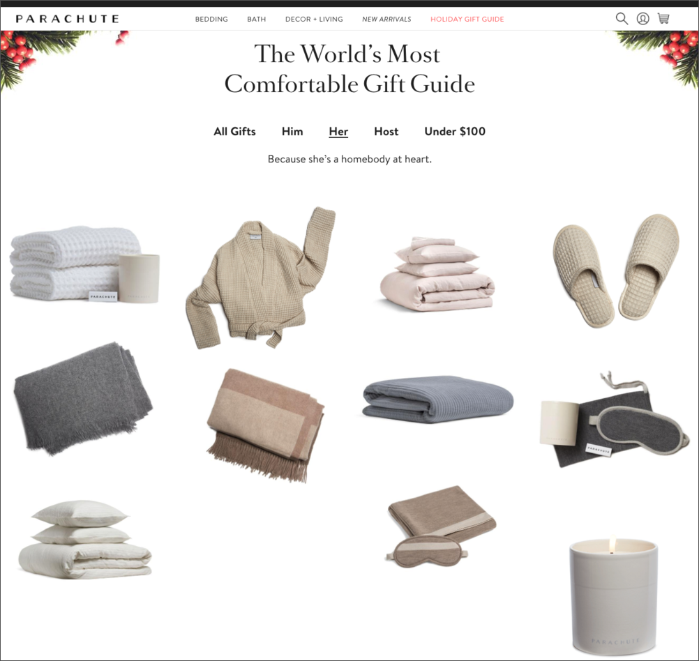 Parachute Gift Guide